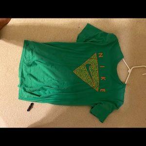 Green Nike Shirt